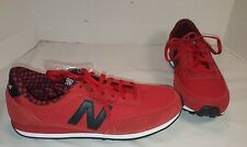 NEW WOMEN'S NEW BALANCE 410 RED & BLACK RETRO RUNNING SHOES SNEAKERS SIZE US 8