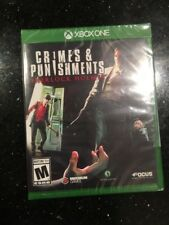 Crimes & Punishments: Sherlock Holmes for Xbox One Brand New! Factory Sealed