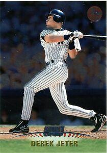 DEREK JETER 1999 STADIUM CLUB CHROME #SCC25 NEW YORK YANKEES