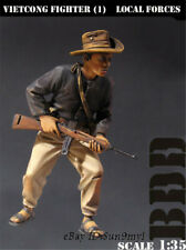 1/35 Vietcong Soldier Resin Model Kits Unpainted GK Unassembled