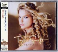TAYLOR SWIFT-FEARLESS-JAPAN SHM-CD BONUS TRACK D50