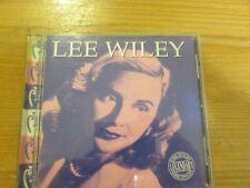 Lee Wiley - Legendary Song Stylist CD Album (PLS CD 308)
