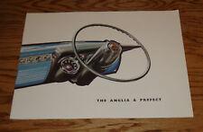 Original 1958 Anglia & Prefect Sales Brochure 58 Ford