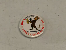BASIL THE GREAT MOUSE DETECTIVE pin badge button 1992 Original Promotional Item