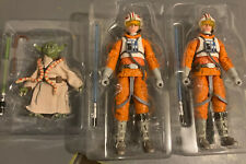 Star Wars Black Series 2 Luke Skywalker and  Yoda 40th Empire loose new