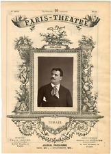 Quinet Alexandre, Paris-Théâtre, Jean-Vital Jammes dit Ismaël (1825-1893), baryt