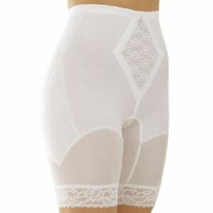 Rago Moderate Control Long Leg Pantie Girdle Style 6795 SIZE 5X (40) WHITE