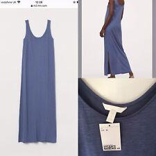 H&M Vestido De Jersey De Algodón Mezcla Tamaño Mediano