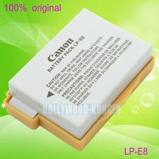 Genuine Original Canon LP-E8 LPE8 Battery for EOS 550D 600D X5 T2i T3i T4i LC-E8