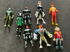 8pcs Bandai Dc Comics Teen Titans Go Slade Trident King Cyborg Master + Others