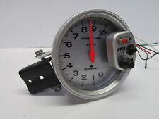 "Autometer Sport Comp Silver 5"" Monster Tachometer Gauge 10K RPM 3911"
