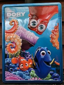 NEW Disney Pixar Finding Dory With Nemo & Friends Tin