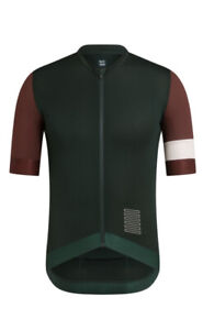 Rapha Cycling Pro Team Training Jersey Size Dark Green Size Large RCC