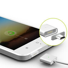 1M Micro USB Magnetic Adapter Charger Cable Metal Plug for Samsung LG HTC