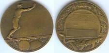 Médaille de table - Sports de Ballons FOOT et RUGBY d=50mm BAUDICHON sculpteur