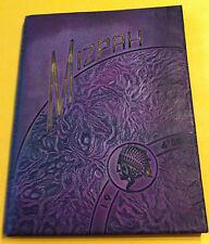 "1946 Mt Gilead High School Yearbook ""MIZPAH"" Ohio - GOOD CONDITION"