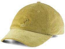 Kangol Classic Corduroy Baseball Strapback Style Beige Cap