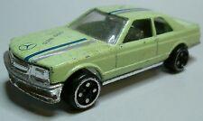 MB MERCEDES-BENZ 500 SEC 2-türiges Coupé C126 hell grün China 20.Jahrhundert RAR