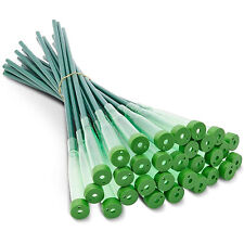 Green Water Tubes For Flower Arrangements Pack of 30 Plastic Keep Flowers Fresh