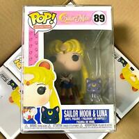 "Funko Pop Sailor Moon : Sailor Moon & Luna #89 Vinyl Figure ""MINT"""