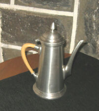 Coffee pot pewter top quality King's Quality Pewter