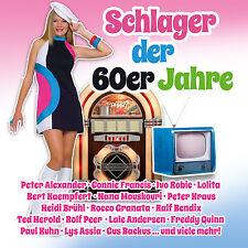 CD Schlager Der 60er Jahre von Diverse Interpreten 2CDs