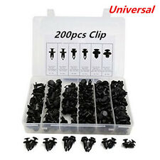 200pcs Car Body/Bumper Push Pin Rivet Retainer Trim Moulding Clips Fastener kits