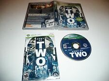 Army of Two  Platinum Hits   XBOX 360  ..    Complete