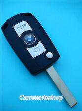 BMW REMOTE TRANSPONDER FLIP KEY UNCUT 3 5 7 SERIES X3 Z3 Z4 Completed key