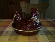 Vintage Hull H.P Co. Oven Proof Casserole  Chicken