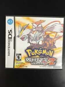 Pokemon: White Version 2 - Nintendo DS - Complete In Box CIB, 100% Authentic