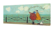 Sam Toft - Her Favourite Cloud II - 50 x 100cm Canvas Print Wall Art WDC93181