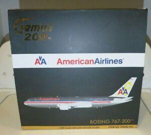 Gemini Jets American Airlines Boeing 767-200 Veterans Livery - G2AAL141 - 1/200