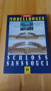 Bastelbogen Modellbogen Schloss Sanssouci