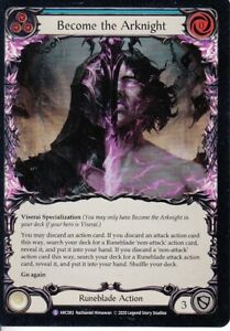 Become the Arknight Flesh and Blood TCG Arcane Rising ARC083 Super Rare Foil