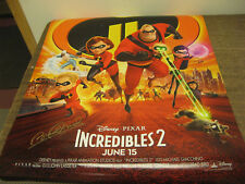 THE INCREDIBLES 2 - DISNEY / PIXAR MOVIE POSTER / PRINT SIGNED BY BRAD BIRD