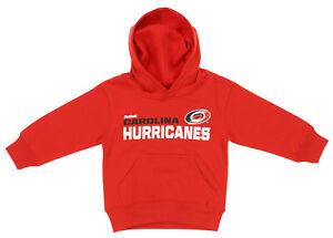Reebok NHL Toddlers Carolina Hurricanes Fleece Clean Cut Hoodie