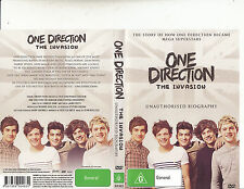 One Direction-The Invasion-Unauthorised Biography-2013-Music Band O-DVD