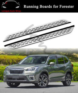 Running Board fits for Subaru Forester 2019 2020 Side Step Nerf Bar Protector