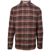 O'neill Men's Red Redmond Plaid L/S Flannel Shirt (Retail $60)