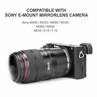 Meike 6-11mm Ultra Wide F3.5 Zoom Fisheye Lens For Sony Camera Such as A6300 A9