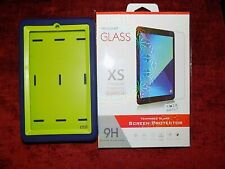 "Amazon Kindle Fire 7 "" Shockproof Silicone Case Cover UK & Glass Protector New"