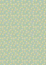 PATCHWORK/ CRAFT FABRIC FAT QTR LEWIS & IRENE FLO'S LITTLE FLOWERS  DAFFODILS