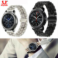 Stainless Steel Strap Metal Watch Band for Samsung Gear S3 22/42/46mm Wristwatch