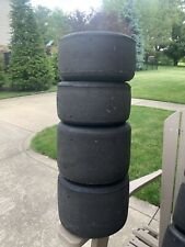 MG White IZGO KART TIRES USED 2 X 4.6 AND 2 X 7.1 Total 4 Tires Set