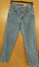 "Carhartt Men's B17 Relaxed Fit Tapered Leg Pants Size 33"" W 34"" Jeans Stonewash"