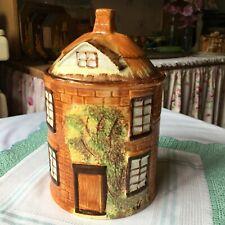 ~Delightful 1950s Cottage Ware!~Biscuit Barrel/Jar Cottage Ware~Super Condition~