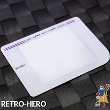 GameBoy Classic Display Scheibe Ersatz Austausch screen LCD white Game Boy WEIß