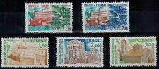 Serie des timbres de service N° YT 77 à 81 neufs **