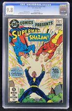 DC Comics Presents #49 CGC 9.8 Superman Shazam & 2nd Black Adam Appearance 1982
